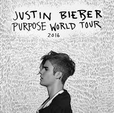 Justin Bieber purpose world tour 2016