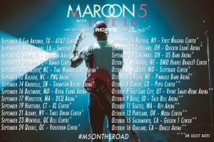 maroon 5 2016