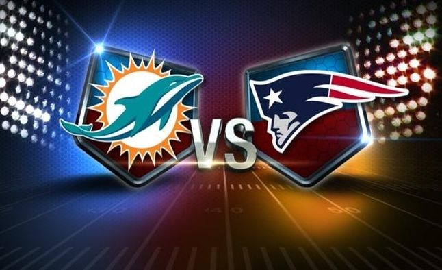 Dolphins vs Patriots 1