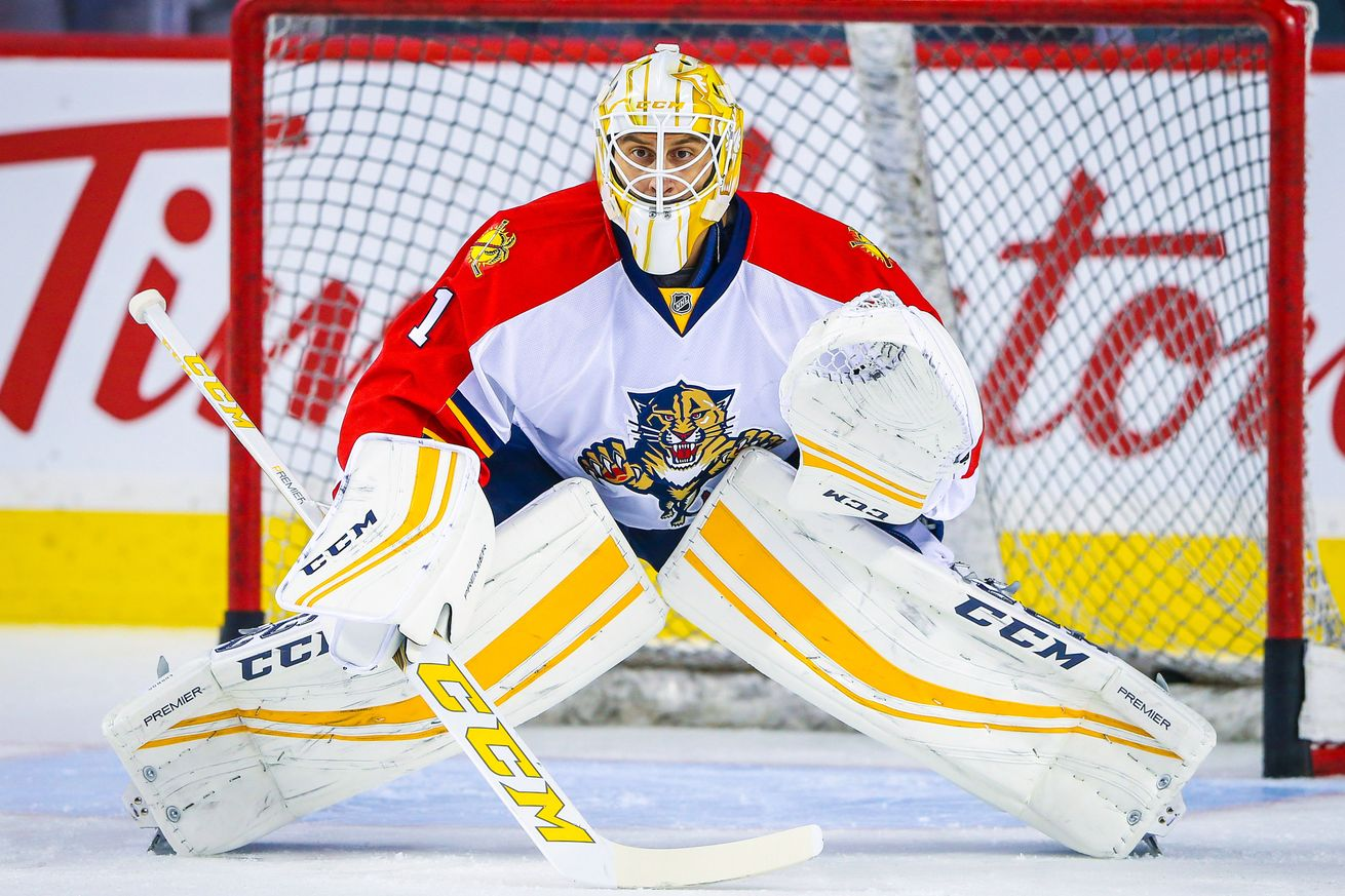 Panthers Luongo