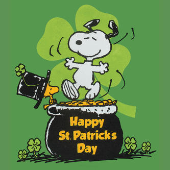 st patricks day snoopy