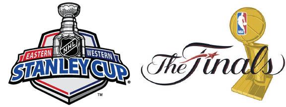 nba nhl playoff logo