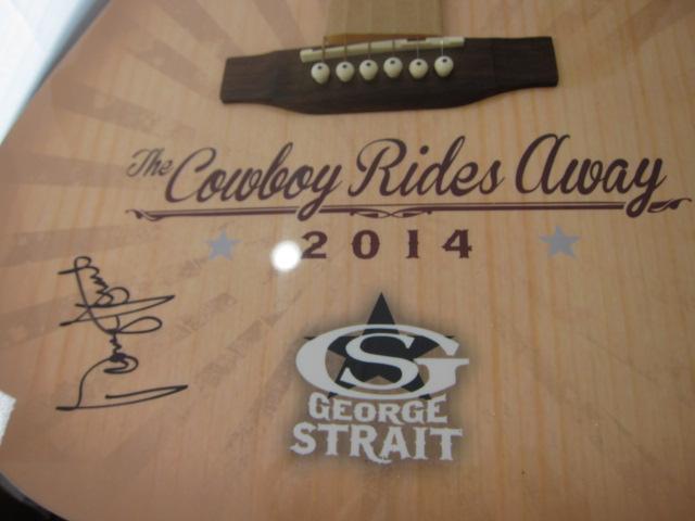 George Strait Acoustic Guitar2