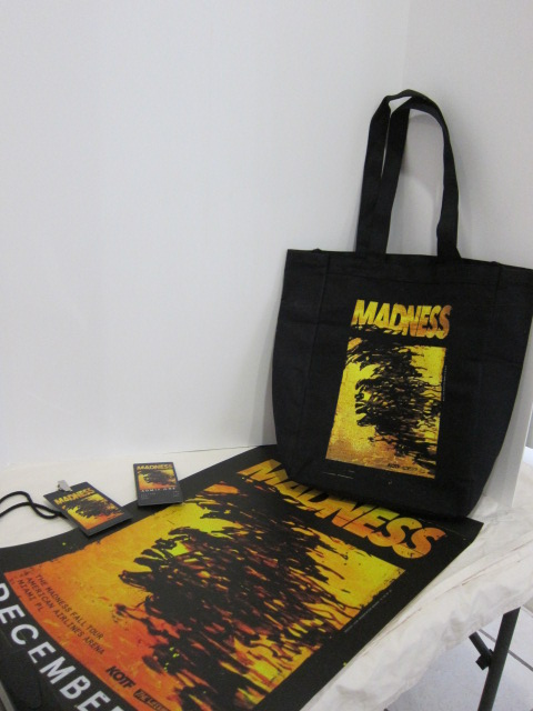 The Weeknd Madness poster bag